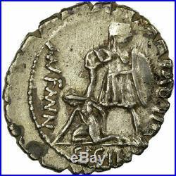 #10607 Monnaie, Aquillia, Denier, Rome, TTB+, Argent, Babelon2