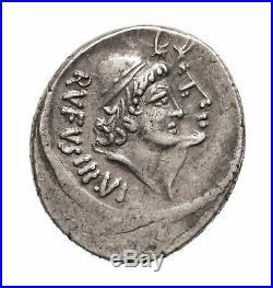 2523 Cordia, Mn. Cordius, 46 avant JC, Denier, Rome, Argent, TTB+, Crawford