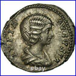 #30906 Monnaie, Julia Domna, Denier, Roma, SPL, Argent