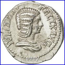 #32967 Monnaie, Julia Domna, Denier, Roma, TTB+, Argent, RIC373a