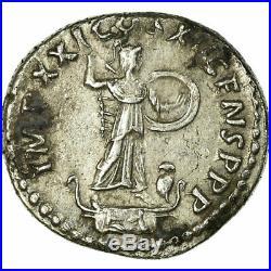 #33992 Monnaie, Domitien, Denier, Roma, TTB+, Argent, RIC725