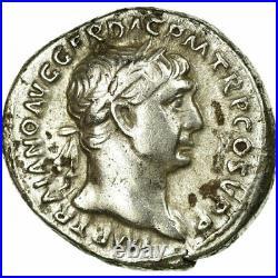 #34003 Monnaie, Trajan, Denier, Roma, TTB+, Argent, RIC212