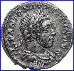 44402 Elagabalus 218-212, Denier, Rome, Pm Tr P V Cos Iiii Pp, Ric 46, Vz