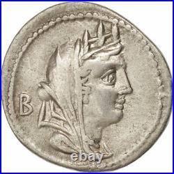 #45736 Monnaie, Fabia, Denier, Rome, TTB, Argent