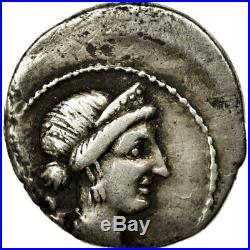 #483842 Monnaie, Julius Caesar, Denier, TTB, Argent, Crawford468/1