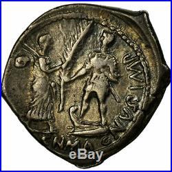 #486160 Monnaie, Pompeia, Denier, Rome, TTB+, Argent, Crawford469/1a