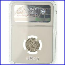 #489366 Monnaie, Tibère, Denier, 15-37 AD, Lyon Lugdunum, Gradée, NGC, MS