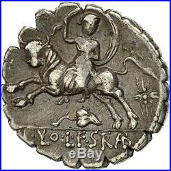 #490740 Monnaie, Volteia, Denier Serratus, 81 BC, Rome, TTB+, Argent, Crawford