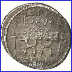#491429 Monnaie, Pompeia, Denier, 54 BC, Rome, TTB+, Argent, Crawford 434/2