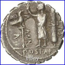 #491430 Monnaie, Postumia, Denier Serratus, 81 BC, Rome, SUP, Argent, Crawford