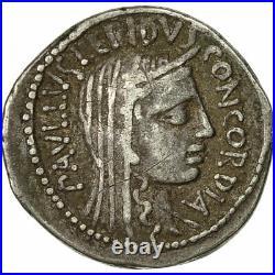 #491442 Monnaie, Aemilia, Denier, 62 BC, Rome, SUP, Argent, Crawford415/1