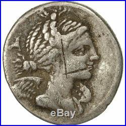 #491539 Monnaie, Valeria, Denier, 82 BC, Marseille, TTB, Argent, Crawford