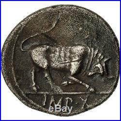 #493032 Monnaie, Auguste, Denier, 15 BC, Lyon, Cohen 137