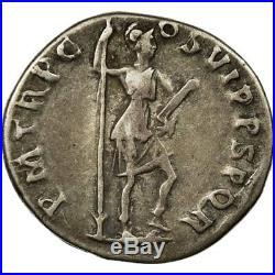 #494831 Monnaie, Trajan, Denier, 114-117, Rome, TTB, Argent, RIC355
