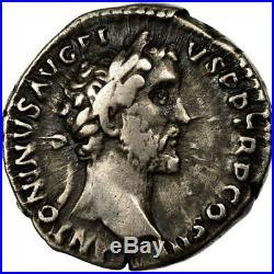 #494845 Monnaie, Antonin le Pieux et Marc Aurèle, Denier, 141-143, Rome, TTB+
