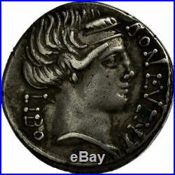 #494991 Monnaie, Scribonia, Denier, 62 BC, Rome, TTB+, Argent, Crawford416/1a