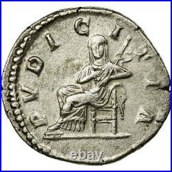 #495068 Monnaie, Julia Domna, Denier, 211, Rome, TTB+, Argent, RIC575