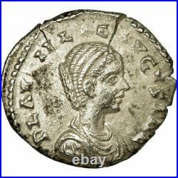 #495182 Monnaie, Plautille, Denier, 202, Laodicea, TTB+, Argent, RIC370