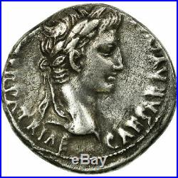 #496528 Monnaie, Auguste, Denier, 1-12, Lyon Lugdunum, TTB, Argent, RIC208