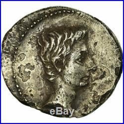 #498562 Monnaie, Auguste, Denier, 16 BC, Spain, Traveling mint, TTB, Argent
