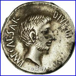 #498564 Monnaie, Octavian, Denier, 37 BC, Atelier incertain, TTB+, Argent