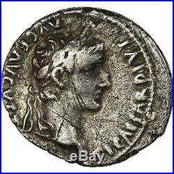 #499949 Monnaie, Tibère, Denier, 15-16 AD, Lyon Lugdunum, TTB, Argent