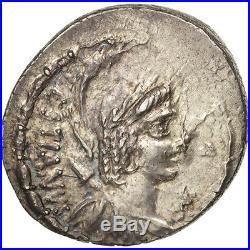 #505780 Plaetoria, Denier, Rome, SUP+, Argent, Crawford409/1