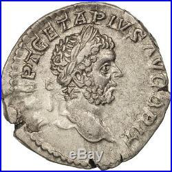 #505855 Geta, Denier, Rome, SUP, Argent, RIC69b