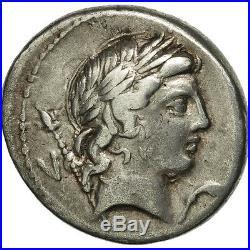 #506528 Crepusia, Denier, Rome, TTB, Argent, Crawford361/1c