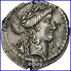#506529 Claudia, Denier, Rome, SUP, Argent, Crawford494/23