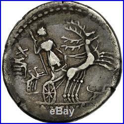#506530 Axia, Denier, Rome, TTB, Argent, Crawford400/1b