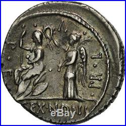 #506538 Nonia, Denier, Rome, TTB+, Argent, Crawford421/1