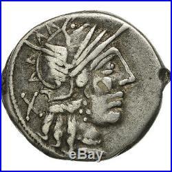 #506547 Porcia, Denier, Rome, TTB, Argent, Crawford274/1