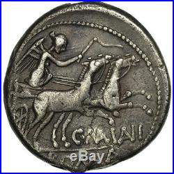 #506602 Maiania, Denier, Rome, TTB, Argent, Crawford203/1a