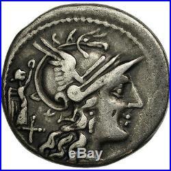 #506613 Terentia, Denier, Rome, TTB, Argent, Crawford217/1