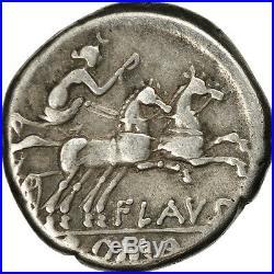 #506620 Decimia, Denier, Rome, TTB, Argent, Crawford207/1