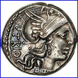 #506622 Lucretia, Denier, Rome, TTB+, Argent, Crawford237/1a