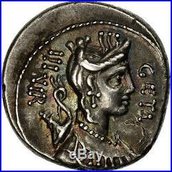 #506634 Hosidia, Denier, Rome, SUP, Argent, Crawford407/2