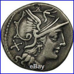 #506640 Pinaria, Denier, Rome, TTB, Argent, Crawford200/1