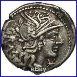 #506661 Antestia, Denier, Rome, TTB, Argent, Crawford238/1
