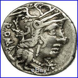 #506662 Calidia, Denier, Rome, TTB, Argent, Crawford284/1a