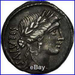#506670 Acilia, Denier, Rome, TTB+, Argent, Crawford442/1a