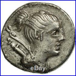 #506671 Postumia, Denier, Rome, TTB+, Argent, Crawford394/1a