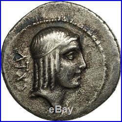 #506675 Calpurnia, Denier, Rome, TTB, Argent, Crawford408/1a