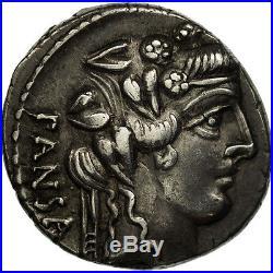 #506682 Vibia, Denier, Rome, TTB+, Argent, Crawford449/2