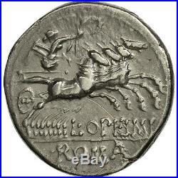 #506685 Opimia, Denier, Rome, TTB+, Argent, Crawford253/1