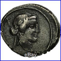 #506691 Titia, Denier, Rome, TTB, Argent, Crawford341/2