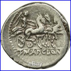 #506704 Mallia, Denier, Rome, TTB, Argent, Crawford299/1b
