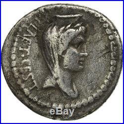 #506922 Brutus, Denier, Atelier itinérant, TB+, Argent, Crawford508/2