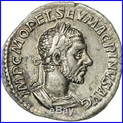 #507332 Macrinus, Denier, Rome, TTB+, Argent, RIC84